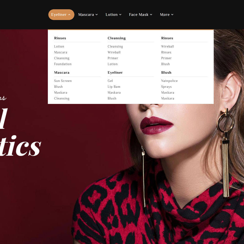 theme - Salute & Bellezza - Senorita - Beauty & Cosmetics - 13