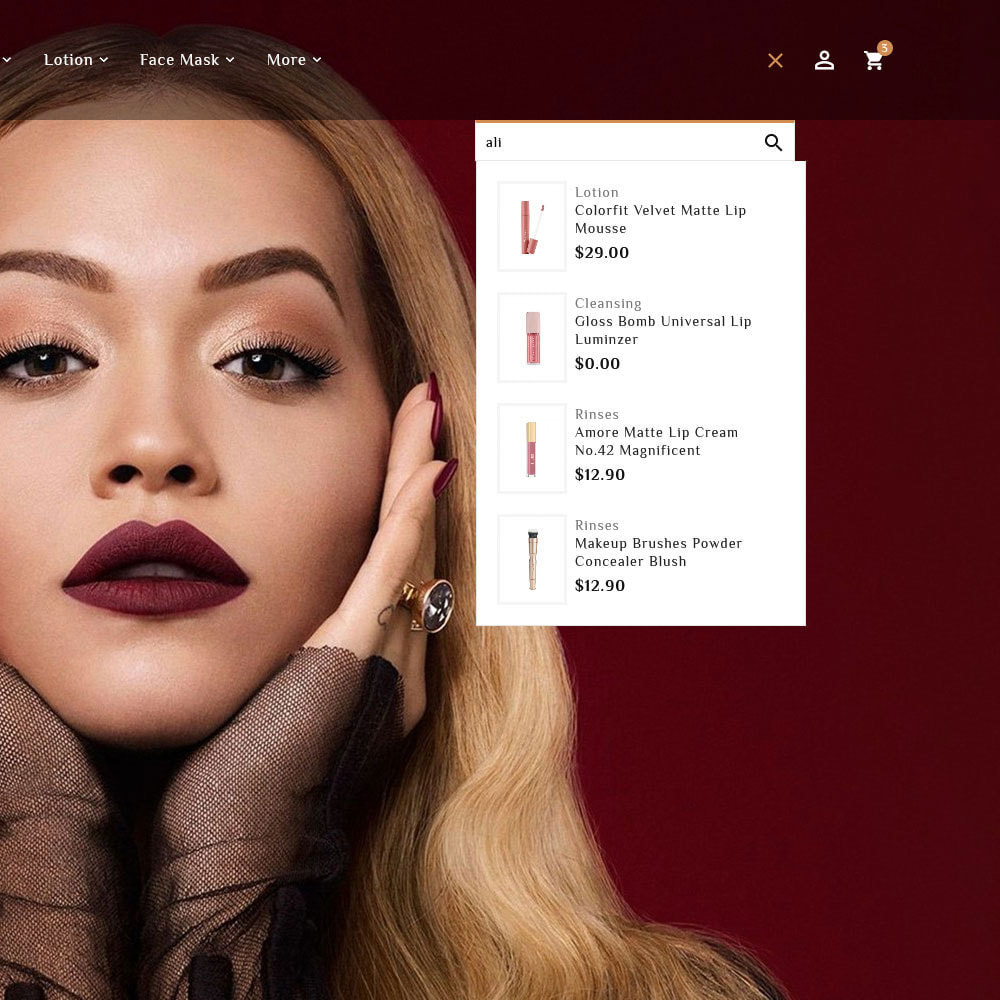 theme - Saúde & Beleza - Senorita - Beauty & Cosmetics - 14