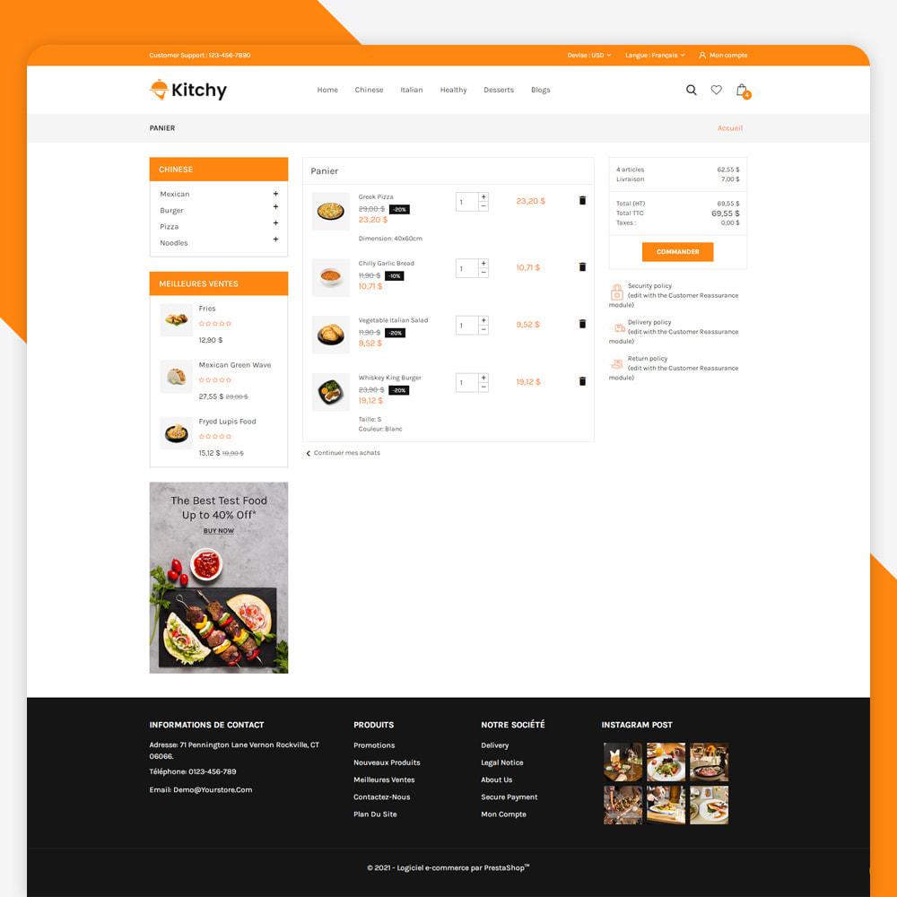 theme - Alimentation & Restauration - Magasin d'alimentation Kitchy - 6