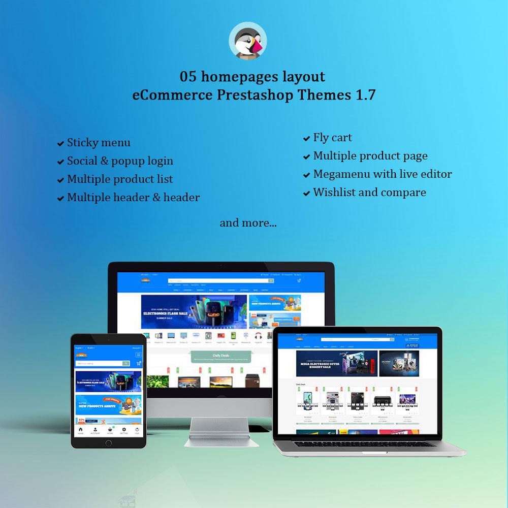 theme - Electrónica e High Tech - Emarket - Electronics & Marketplace online store - 1