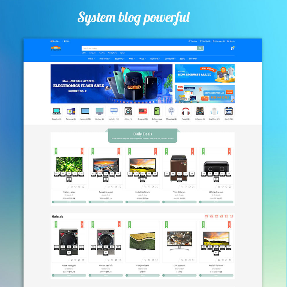 theme - Electrónica e High Tech - Emarket - Electronics & Marketplace online store - 5