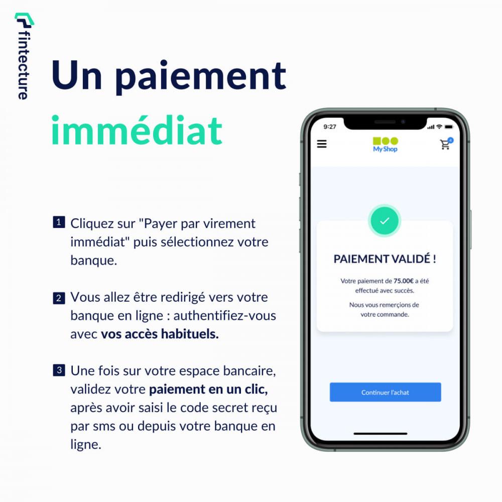 module - Autres moyens de paiement - Payer par Virement Immédiat (by Fintecture) - 4
