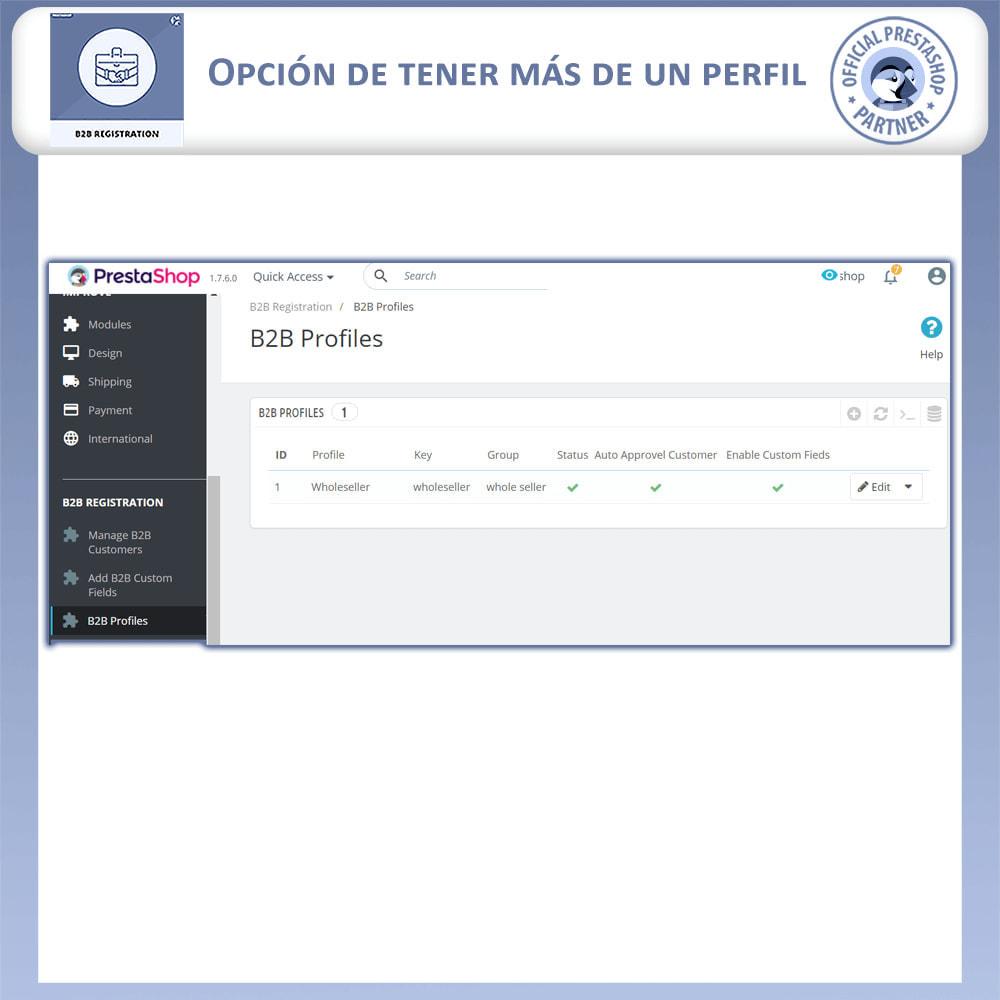module - Inscripción y Proceso del pedido - Registro B2B - 14
