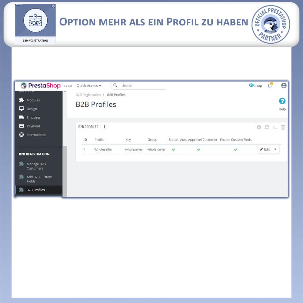 module - Anmeldung und Bestellvorgang - B2B-Registrierung - 14