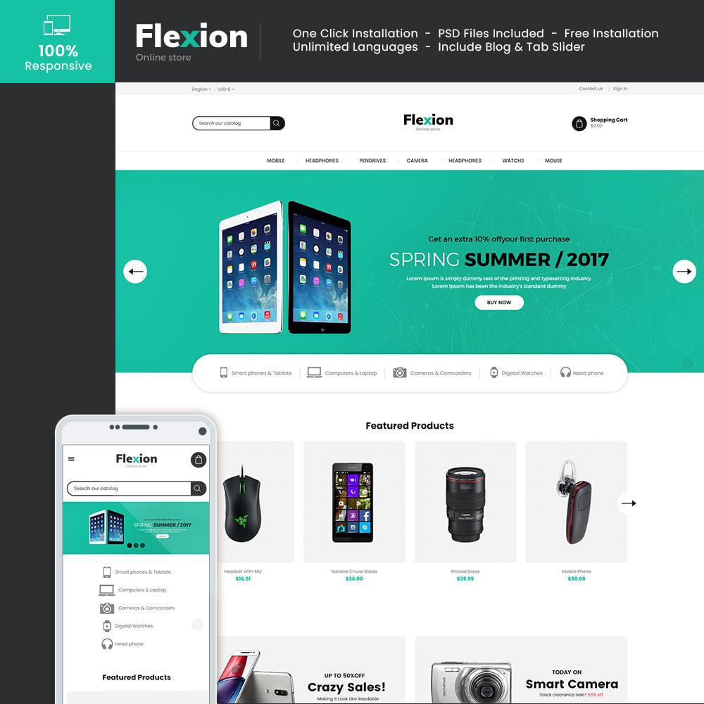 theme - Electronics & Computers - Flexion Online Store - Electronics Digital Store - 1