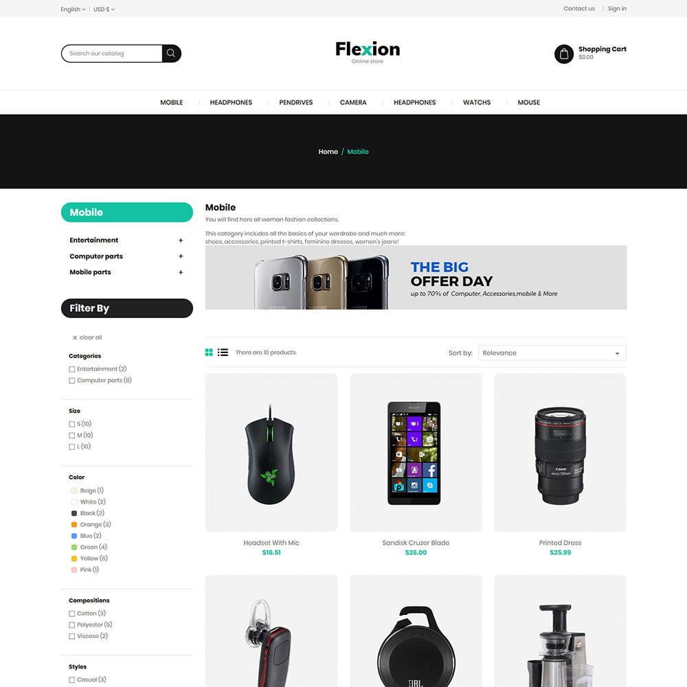 theme - Electronics & Computers - Flexion Online Store - Electronics Digital Store - 3
