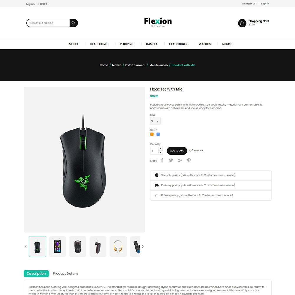 theme - Electronics & Computers - Flexion Online Store - Electronics Digital Store - 5