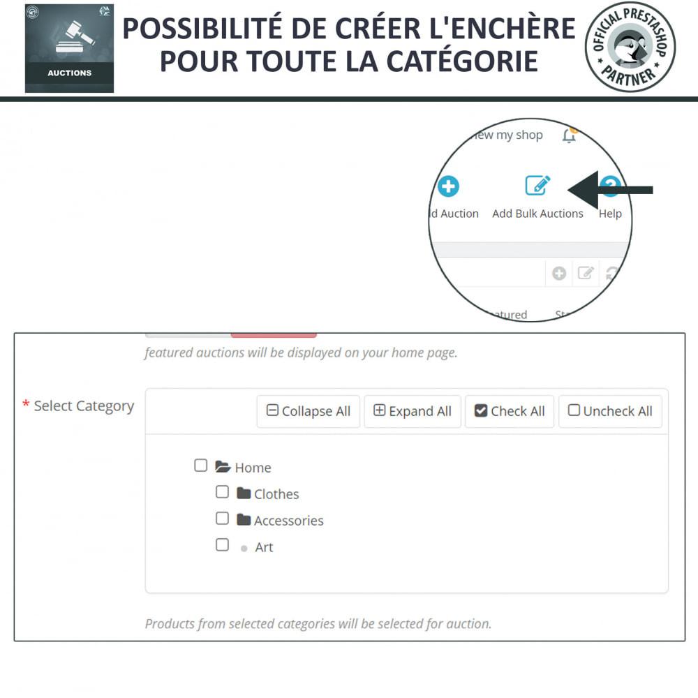 module - Site d'enchères - Enchères Pro - Système d'enchères en ligne - 25