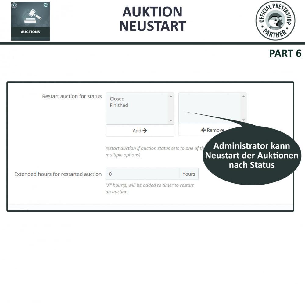 module - Auktionsseiten - Auktion Pro, Online-Auktions und Gebotsmanagement - 14