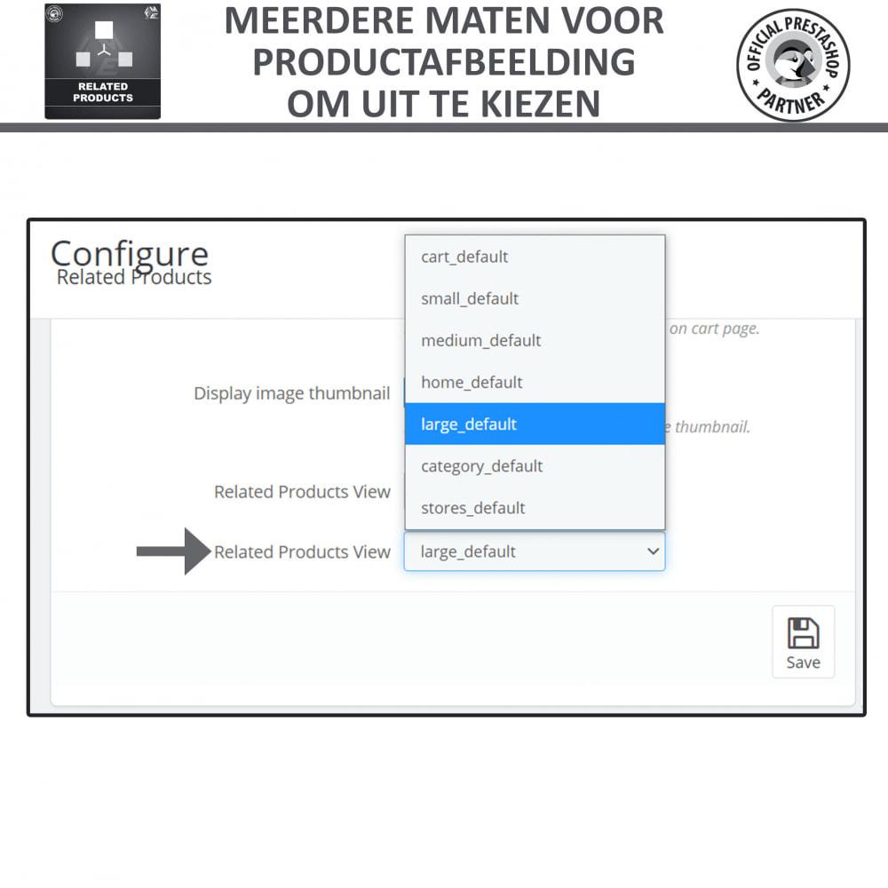 module - Kruisverkoop & Pakketaanbiedingen - Gerelateerde producten - 6