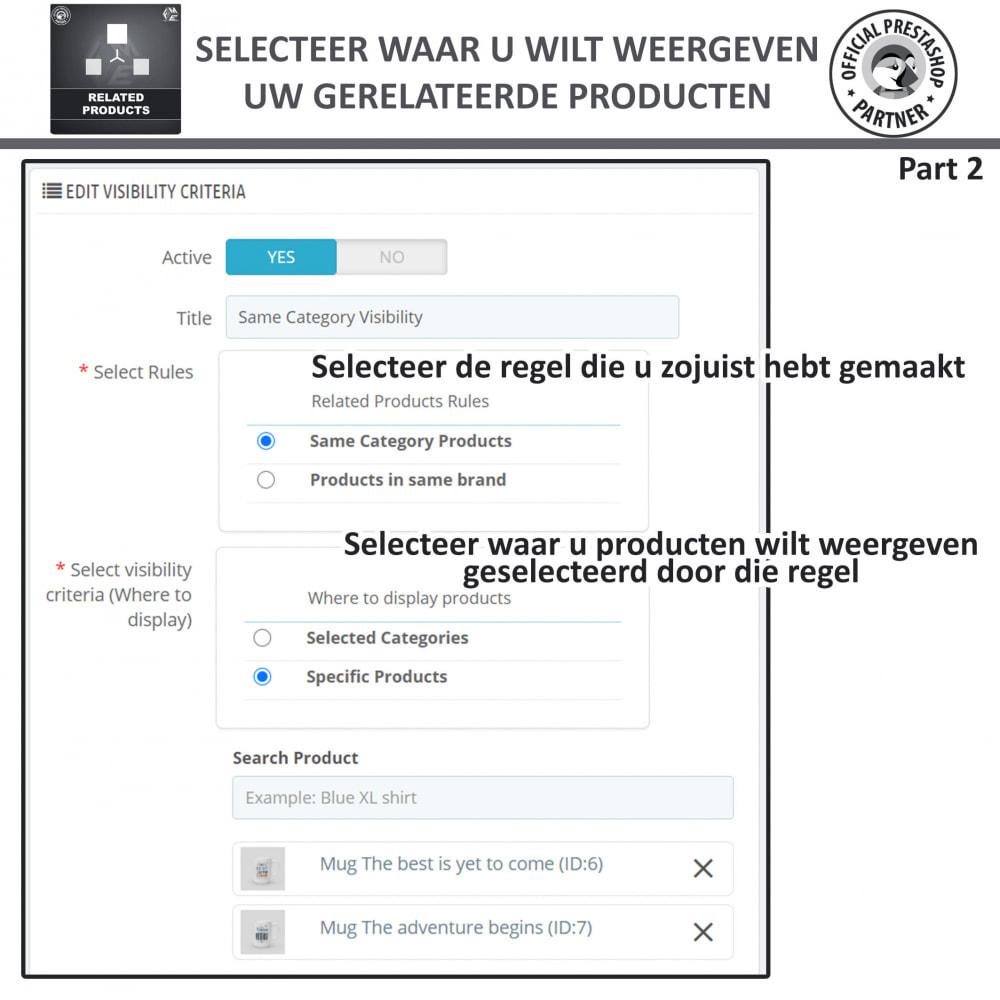 module - Kruisverkoop & Pakketaanbiedingen - Gerelateerde producten - 8
