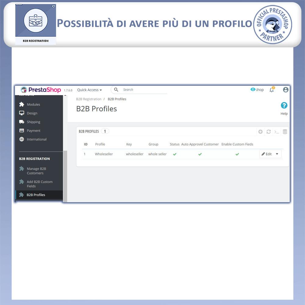 module - Iscrizione e Processo di ordinazione - Registrazione B2B - 14