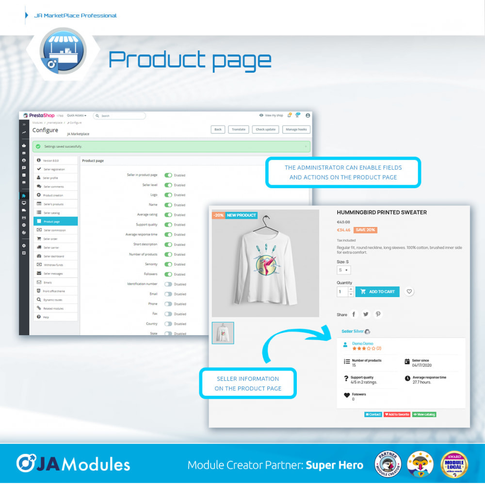 module - Stworzenia platformy handlowej - JA Marketplace - 13