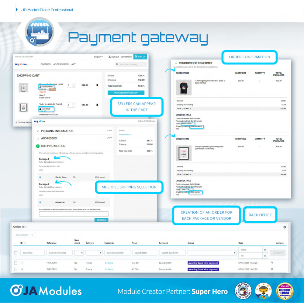 module - Stworzenia platformy handlowej - JA Marketplace - 14