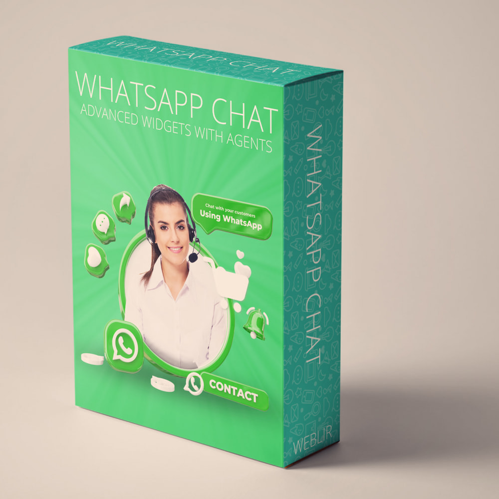 module - Ondersteuning & Online chat - WhatsApp Chat - Advanced widgets with agents - 1