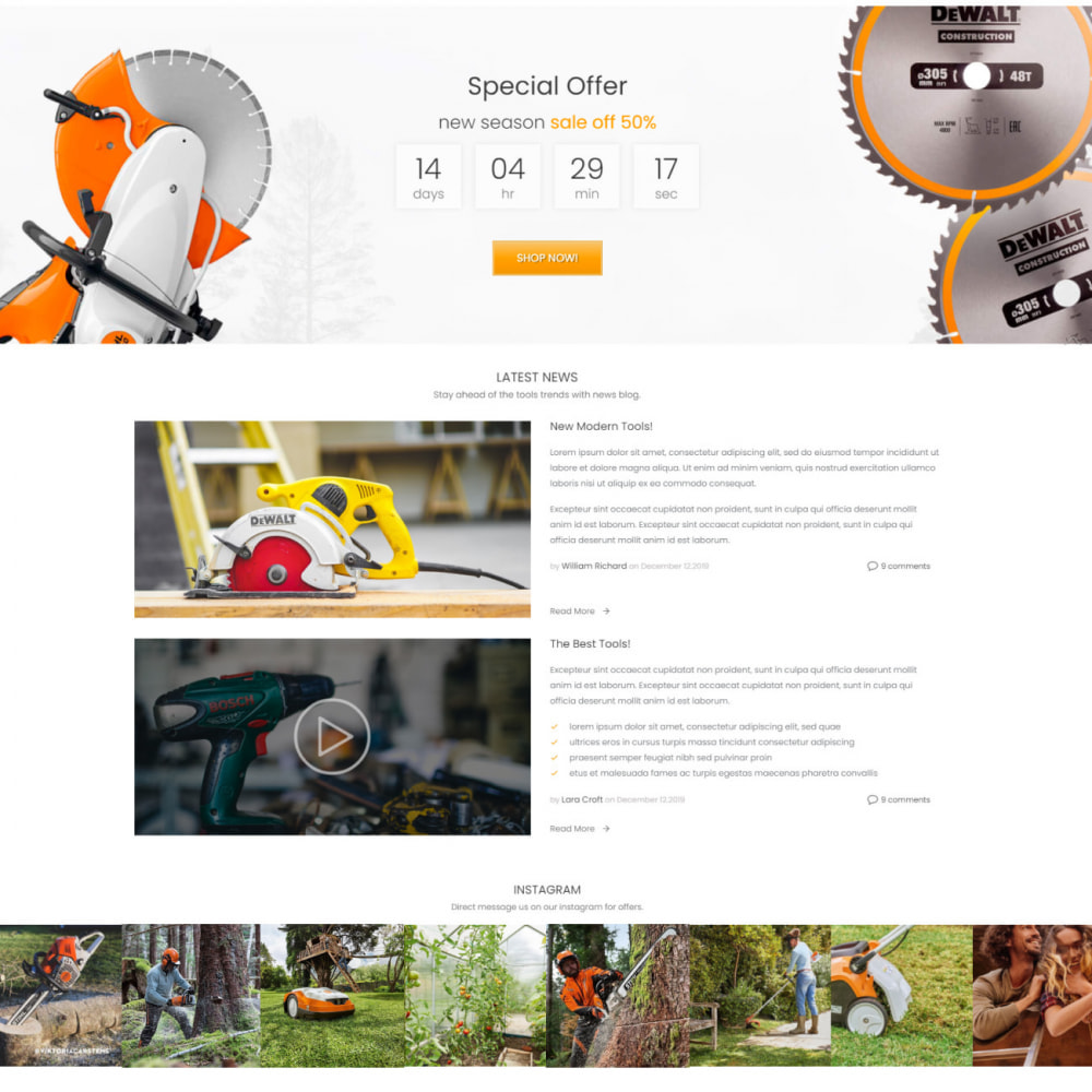 theme - Automotive & Cars - Monolith - Car & Tools, Sport & Travel, Garden & Art - 3