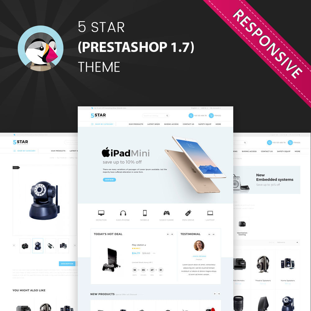 theme - Elektronika & High Tech - 5 star Electronics - The Electronic Shop - 1