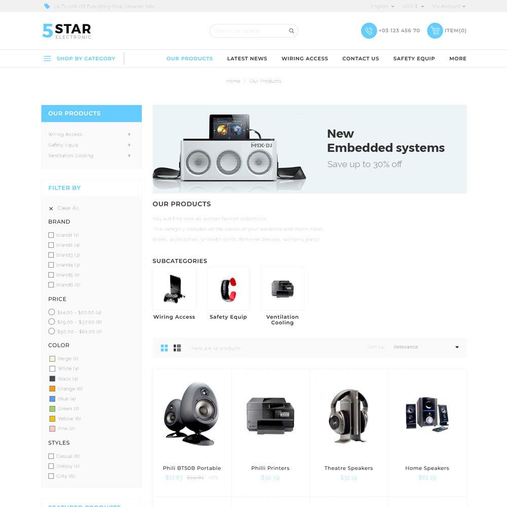 theme - Elektronika & High Tech - 5 star Electronics - The Electronic Shop - 4