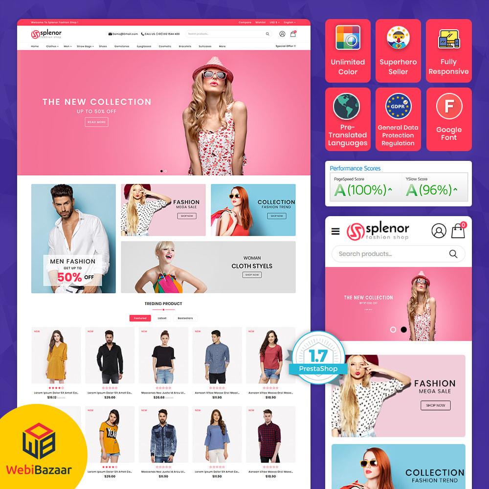theme - Moda y Calzado - Splenor - Multipurpose Fashion Store - 1