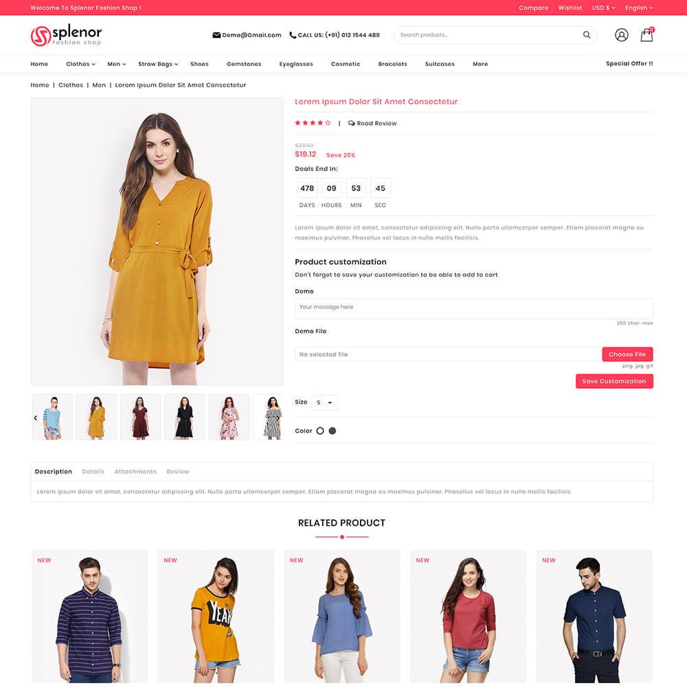 theme - Moda y Calzado - Splenor - Multipurpose Fashion Store - 3