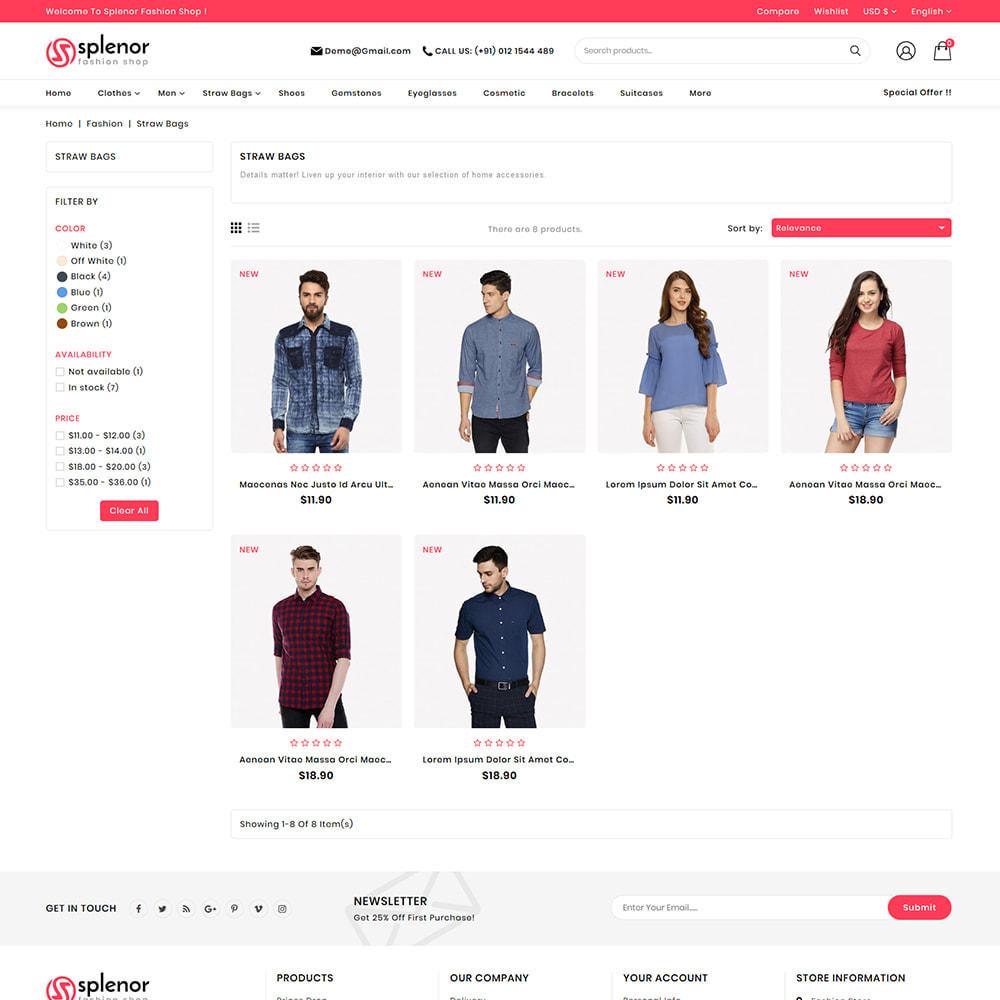 theme - Moda y Calzado - Splenor - Multipurpose Fashion Store - 4