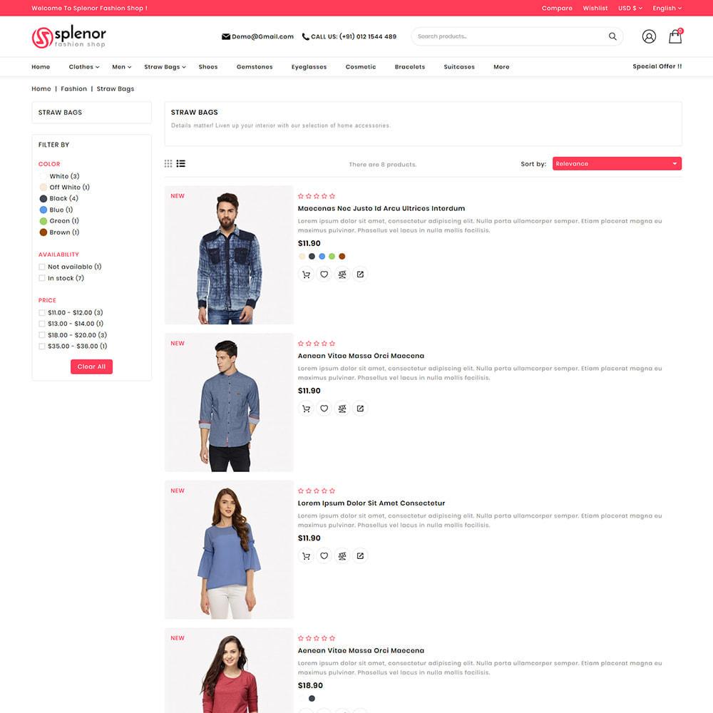 theme - Moda y Calzado - Splenor - Multipurpose Fashion Store - 5