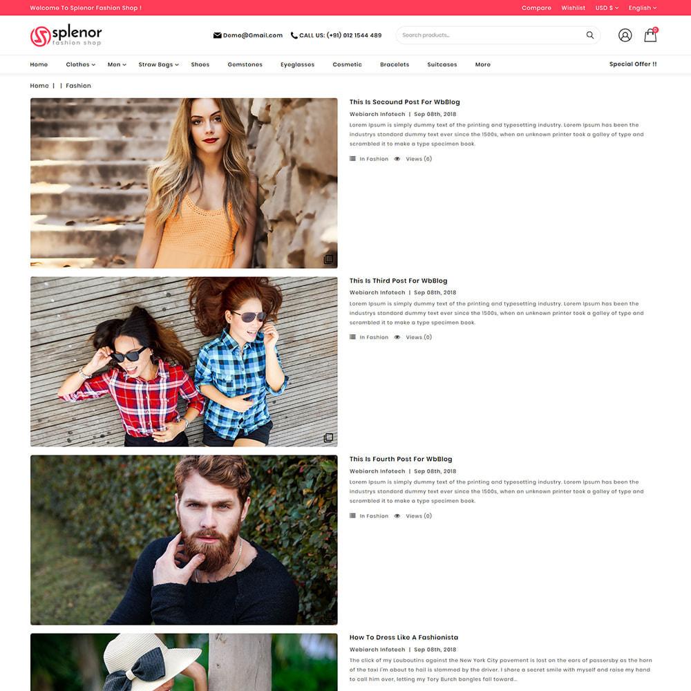 theme - Moda y Calzado - Splenor - Multipurpose Fashion Store - 6