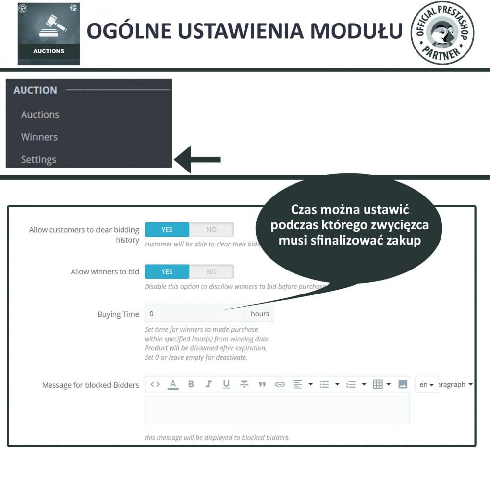module - Zbuduj stronę aukcyjną - Aukcje Pro, Aukcje i Licytacje Online - 24