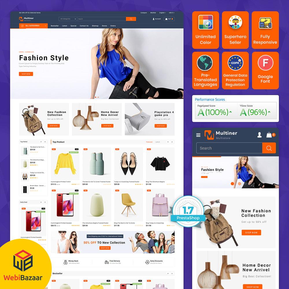 theme - Elektronica & High Tech - Multiner - Super Market Multipurpose Store - 1