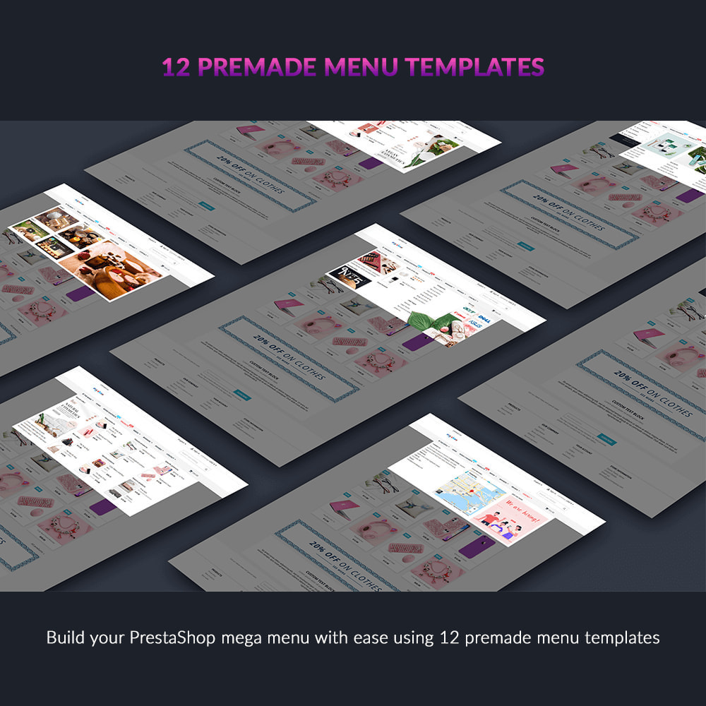 module - Menu - Pretty Menu - Advanced menu builder - 2