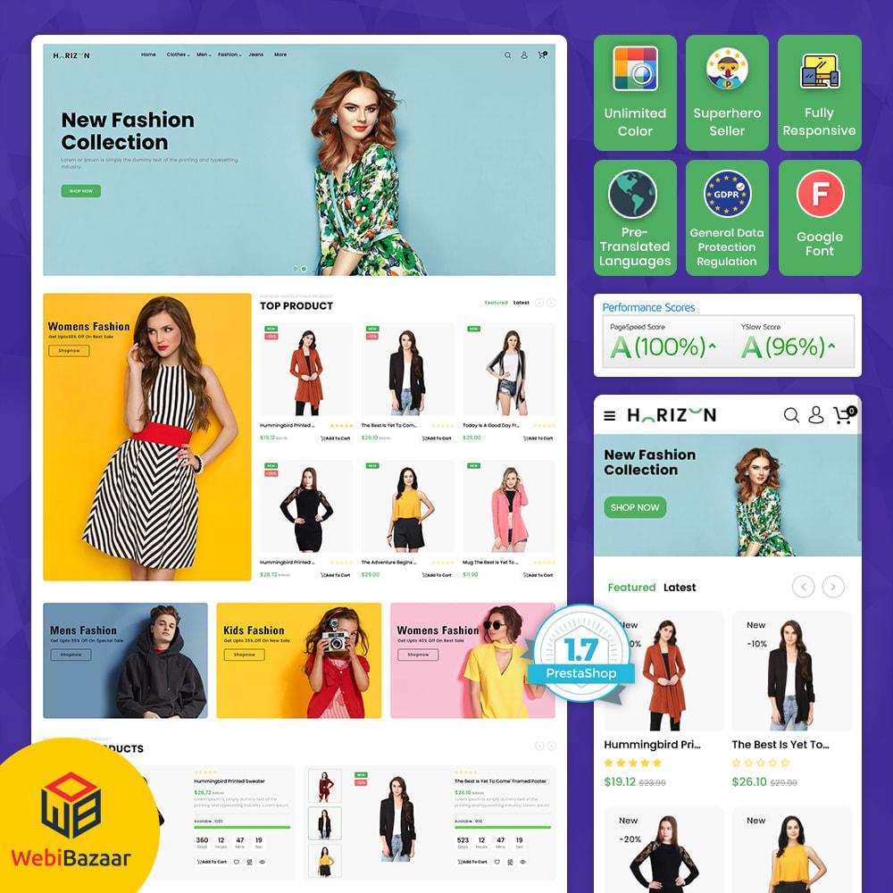 theme - Electronics & Computers - Horizon - Supermarket MultiStore - 1