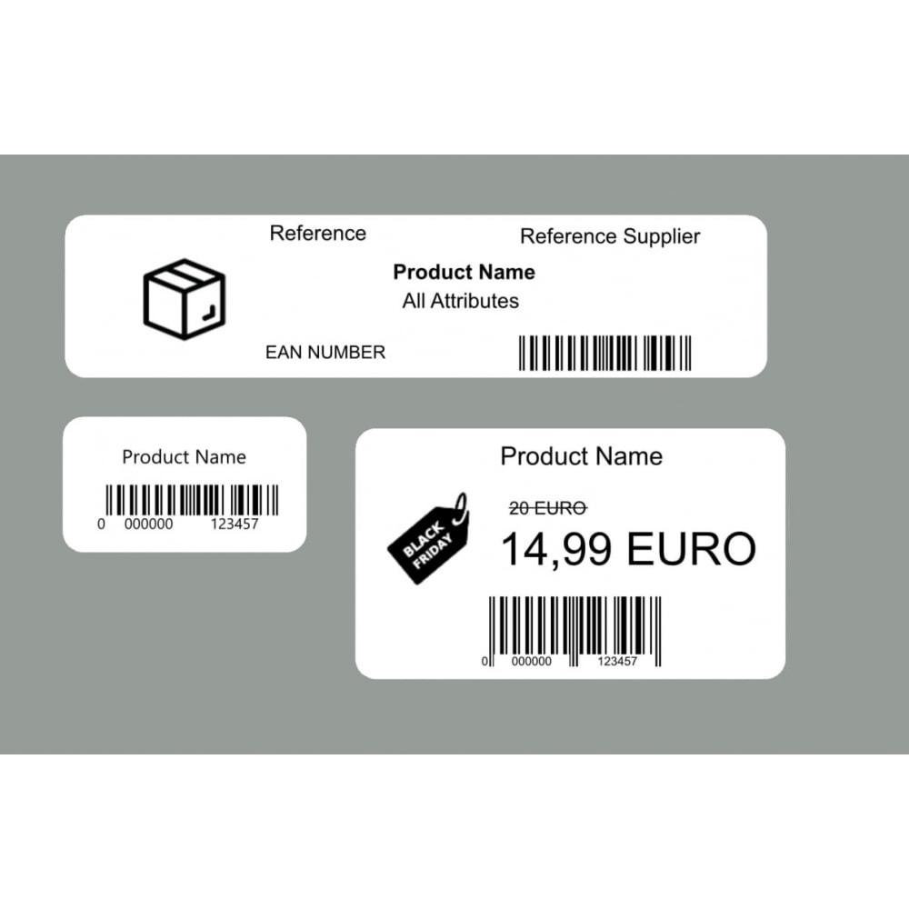 module - Kommissionierung & Versand - Produkt- / Barcode-Etikett - Direct Label Print - 1