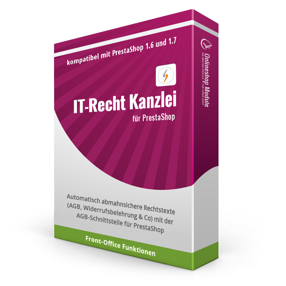 module - Rechtssicherheit - IT-Recht Kanzlei AGB-Schnittstellen Service - 1