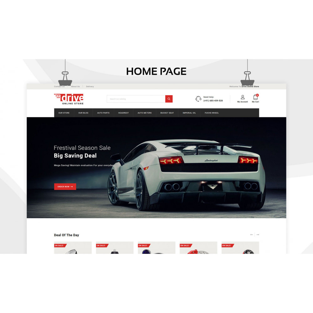 theme - Авто и Мото - Drive - The Automobile Store - 3