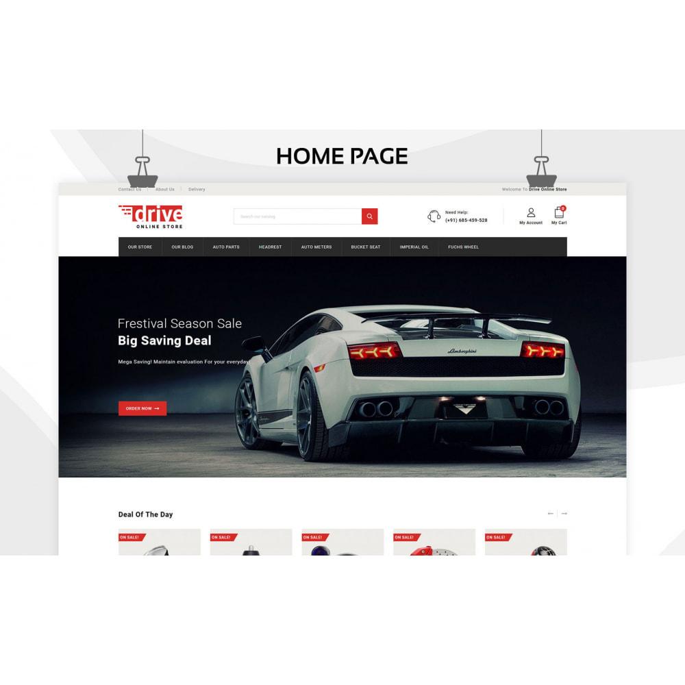 theme - Coches y Motos - Drive - La tienda de automóviles - 4