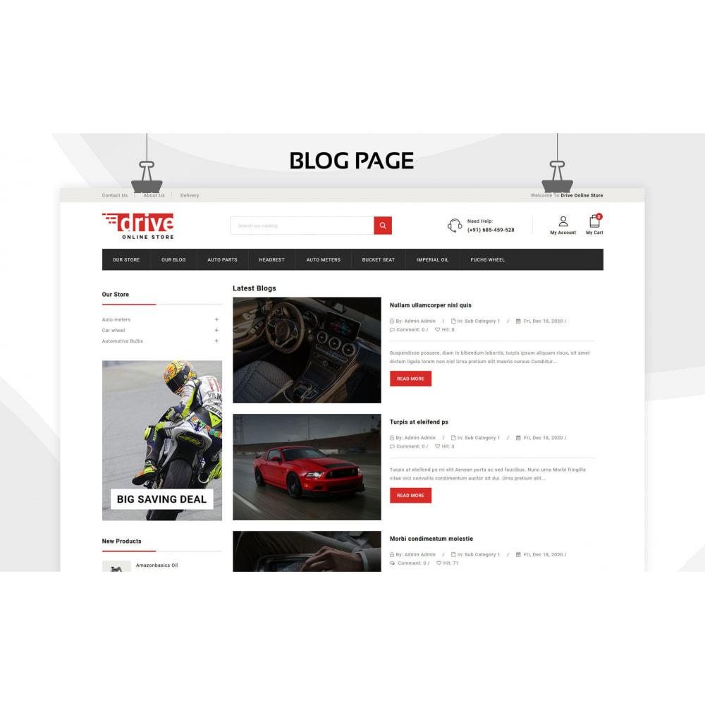 theme - Coches y Motos - Drive - La tienda de automóviles - 8