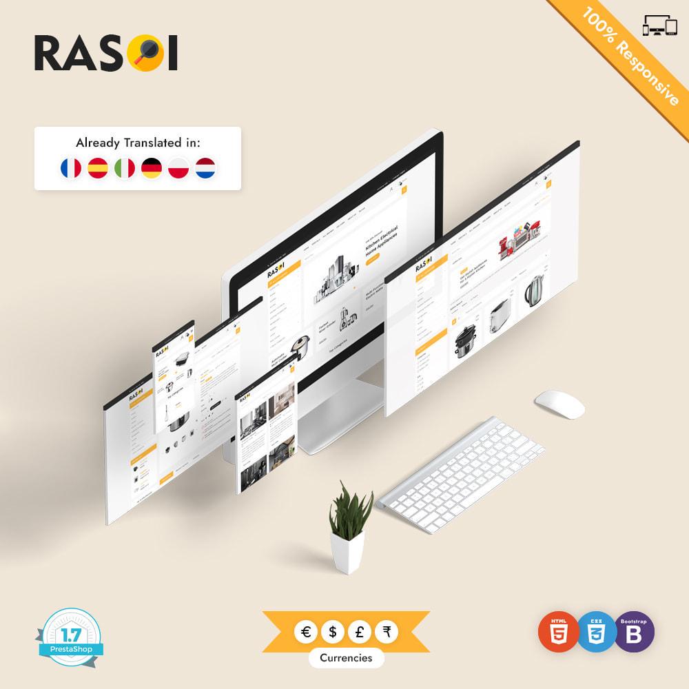 theme - Casa & Jardins - Rasoi - Eletrodomésticos e cozinhas - 1