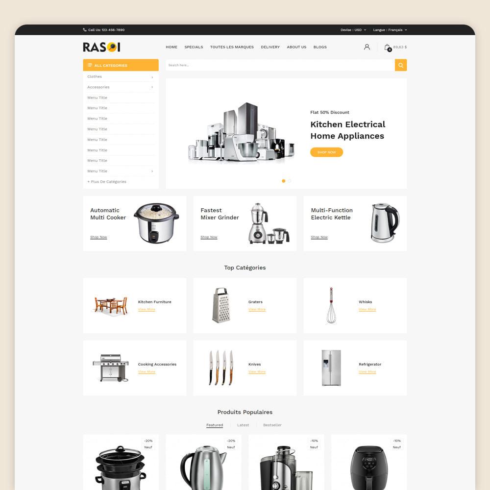 theme - Maison & Jardin - Rasoi - Cuisine et appareils ménagers - 2