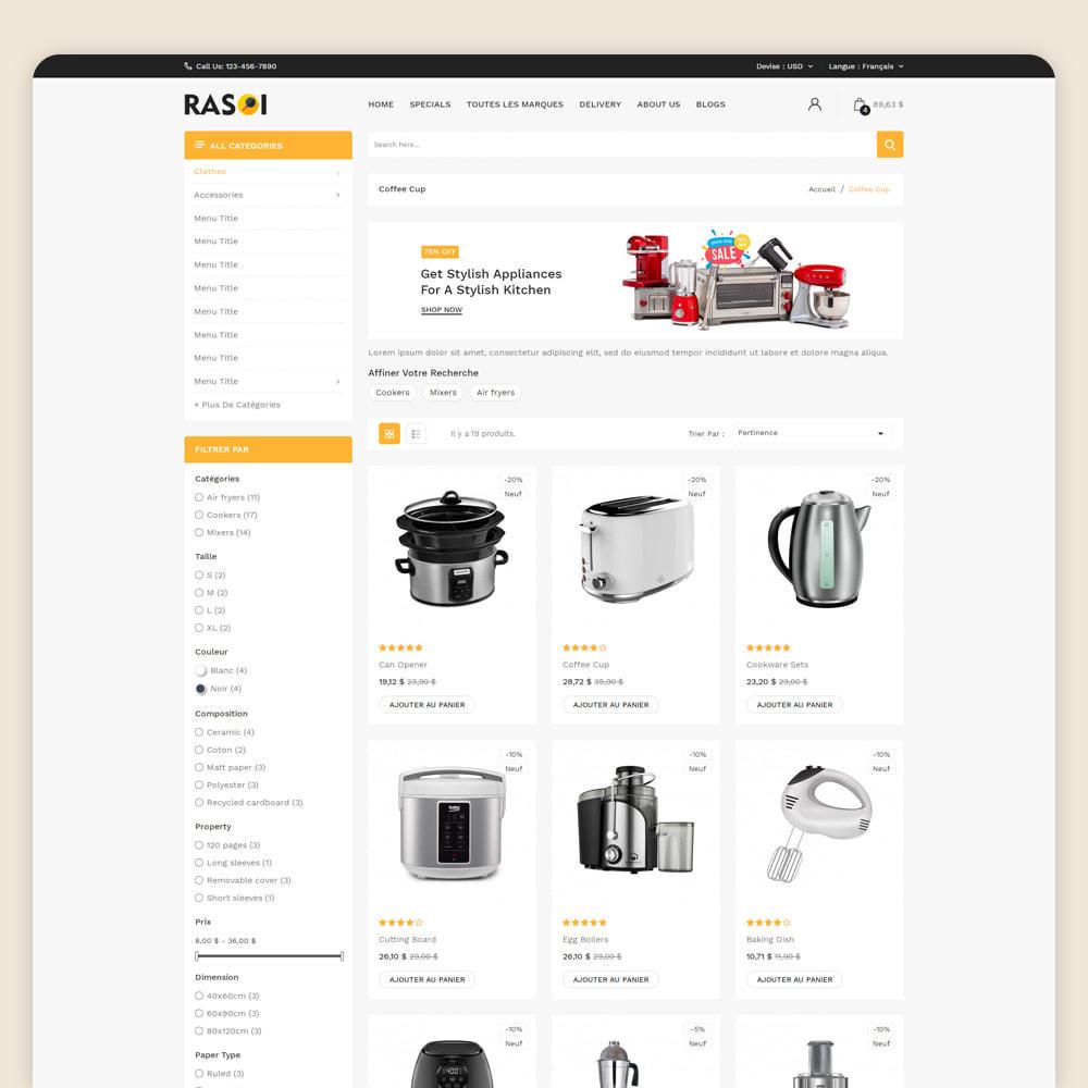 theme - Maison & Jardin - Rasoi - Cuisine et appareils ménagers - 3