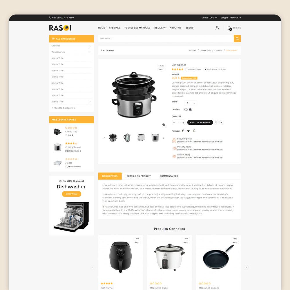 theme - Maison & Jardin - Rasoi - Cuisine et appareils ménagers - 4