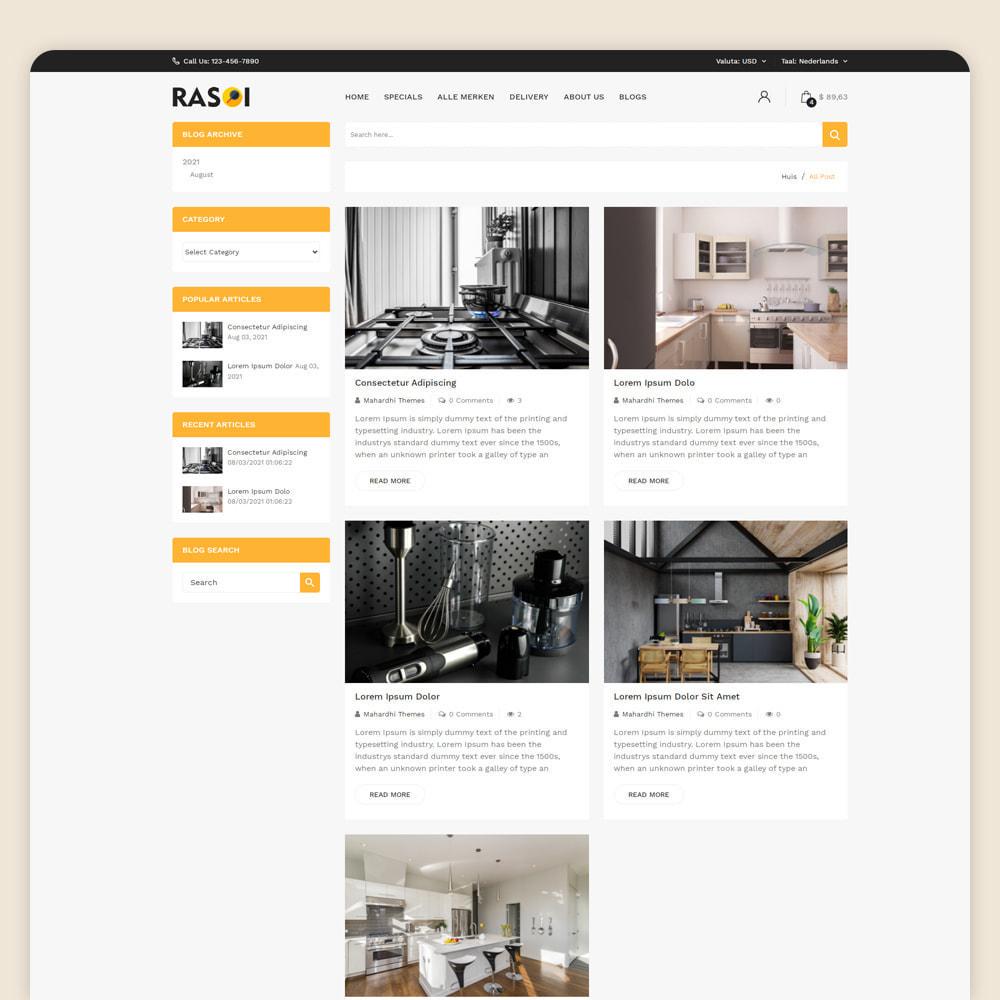 theme - Huis & Buitenleven - Rasoi - Keuken & Huishoudelijke Apparaten - 5