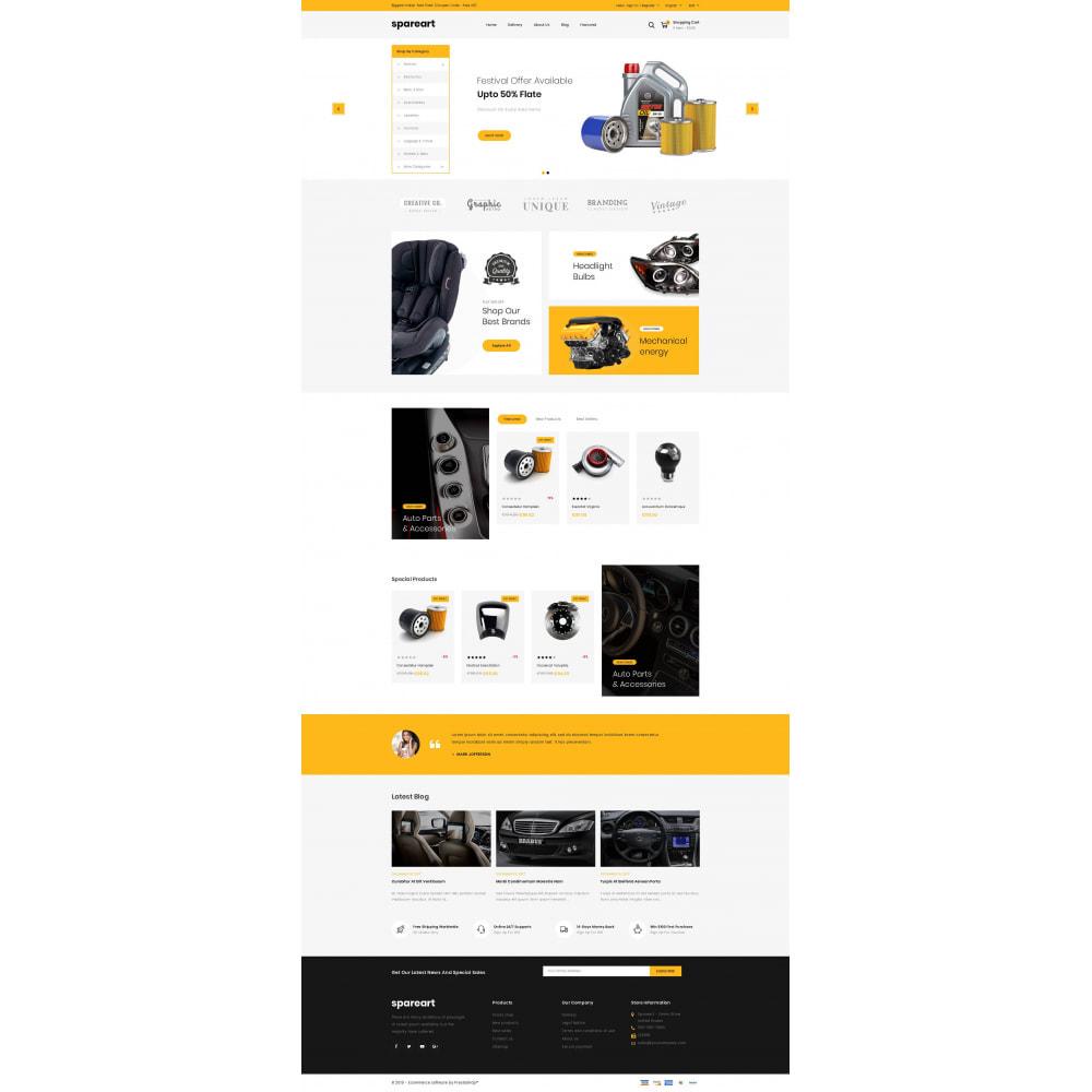 theme - Automotive & Cars - Sparearts - AutoParts Store - 2