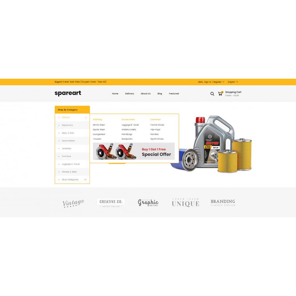 theme - Automotive & Cars - Sparearts - AutoParts Store - 6
