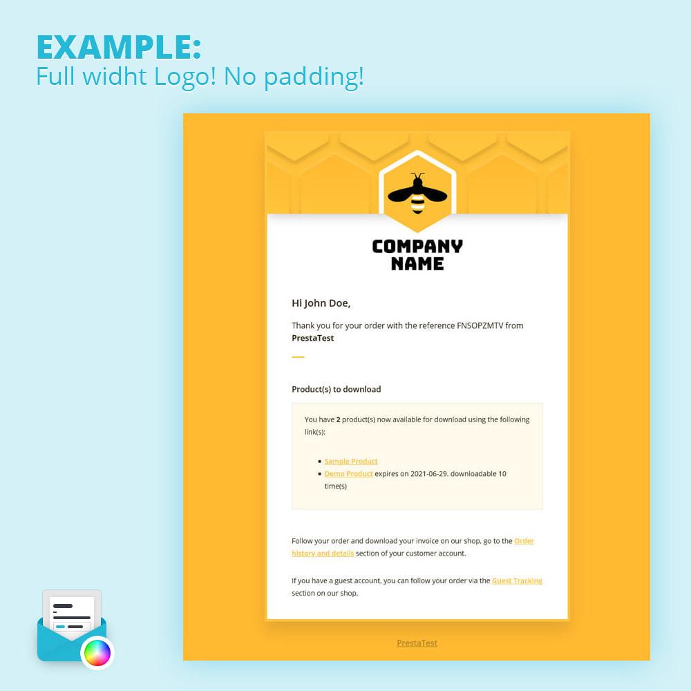 module - Email & Notifiche - Modern Mail Template Customizer - 1