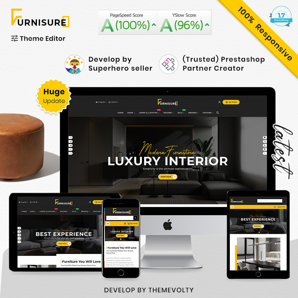 theme - Hogar y Jardín - Furnisure Mega Furniture–Decor Multipurpose Super Store - 1