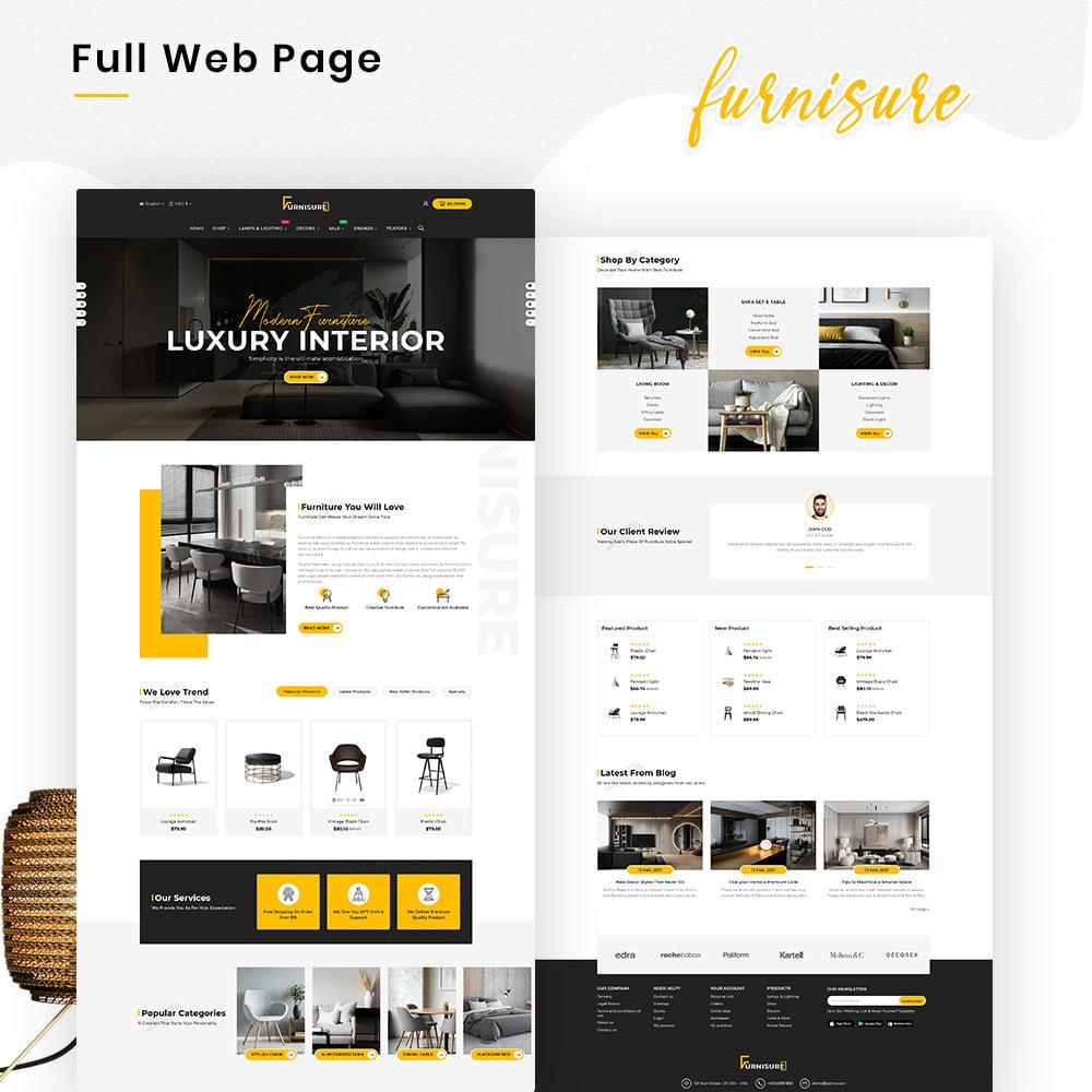theme - Hogar y Jardín - Furnisure Mega Furniture–Decor Multipurpose Super Store - 2