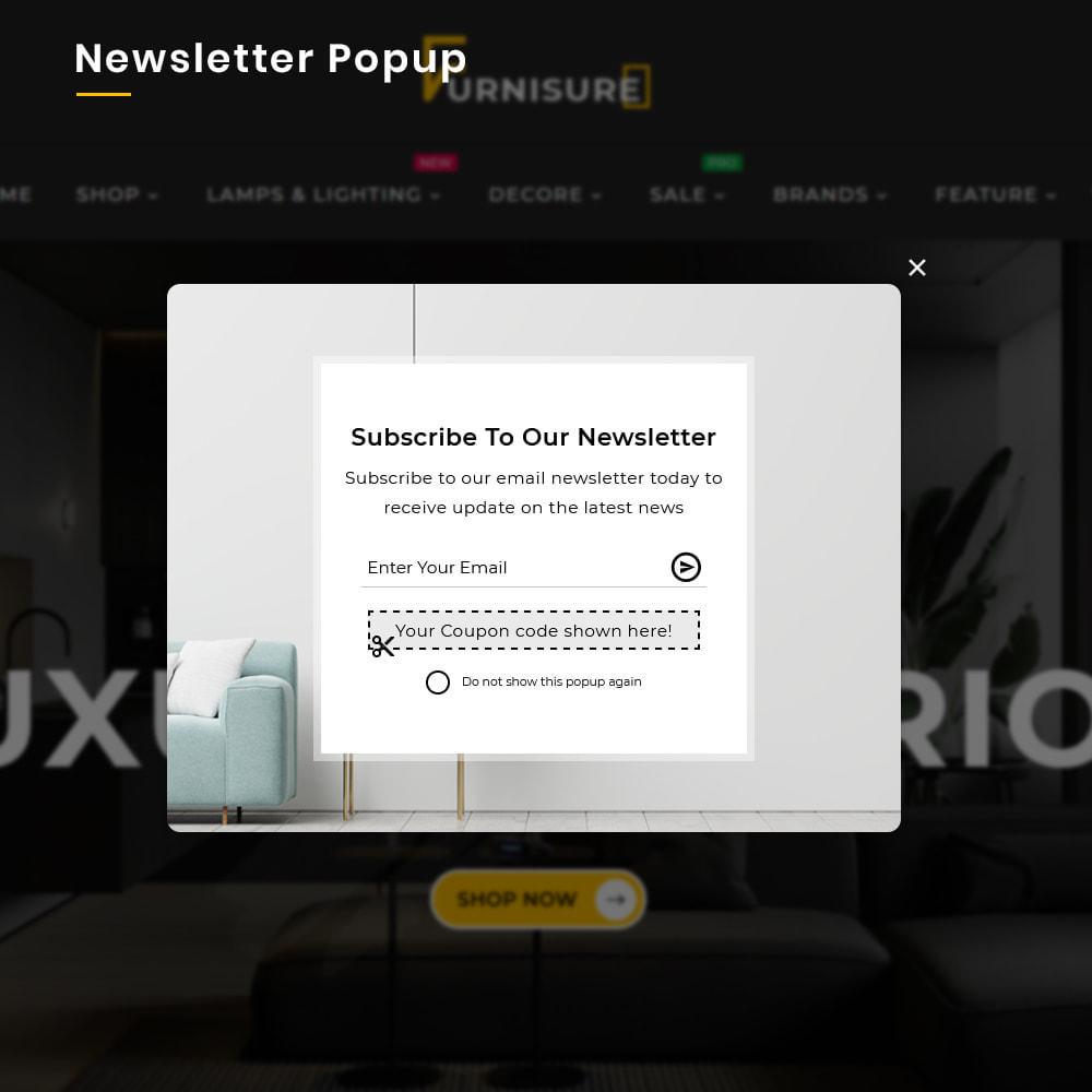 theme - Hogar y Jardín - Furnisure Mega Furniture–Decor Multipurpose Super Store - 9