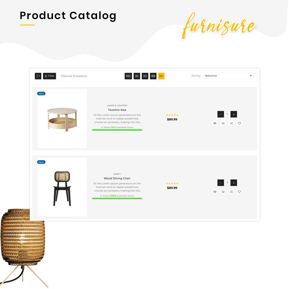 theme - Hogar y Jardín - Furnisure Mega Furniture–Decor Multipurpose Super Store - 12