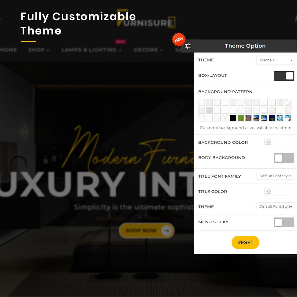 theme - Hogar y Jardín - Furnisure Mega Furniture–Decor Multipurpose Super Store - 13
