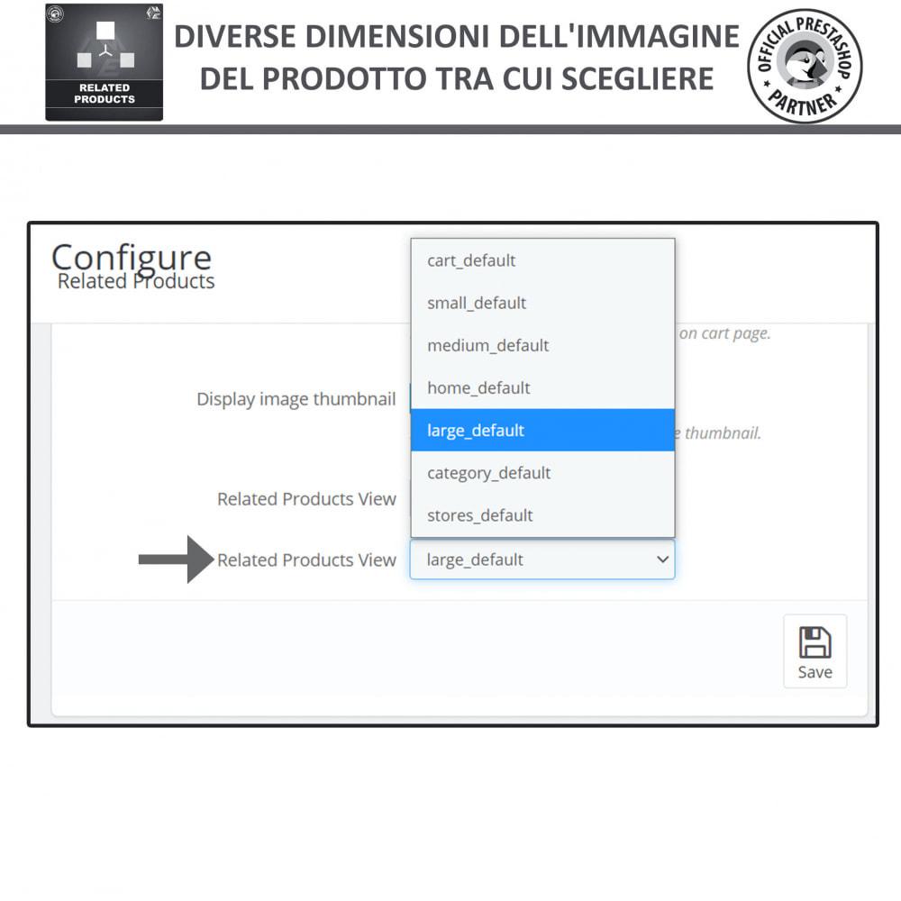 module - Cross-selling & Product Bundle - Prodotti Correlati,  Una Slider per Prodotti Simili - 6